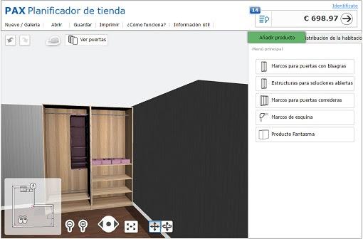 dormitorio muebles modernos ikea armarios planificador