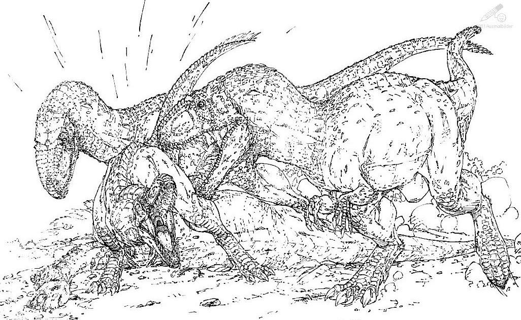 malvorlage dinosaurier  auf den spuren der dinosaurier