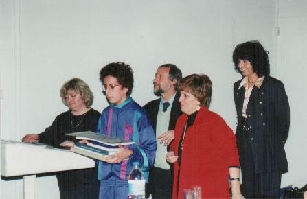 Premiazione del Concorso 1994, Arcangeli Silvana e gli altri..