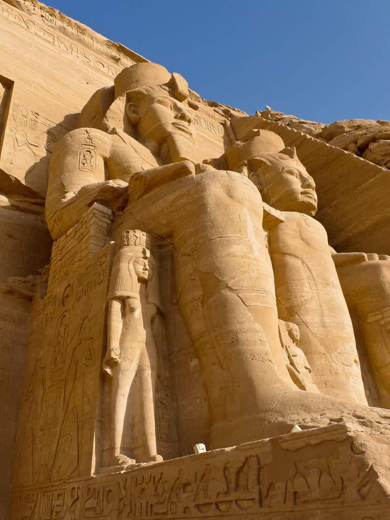 Abu Simbel in Egypt