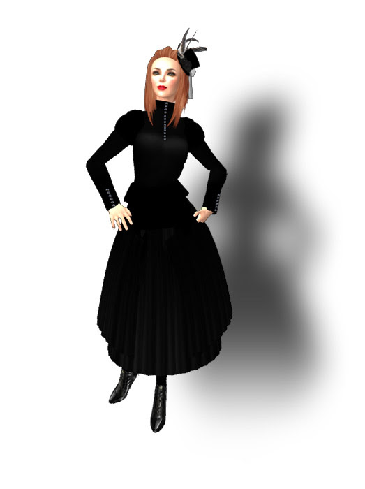Xstreet Freebie Edge Grafica Mourning Dress