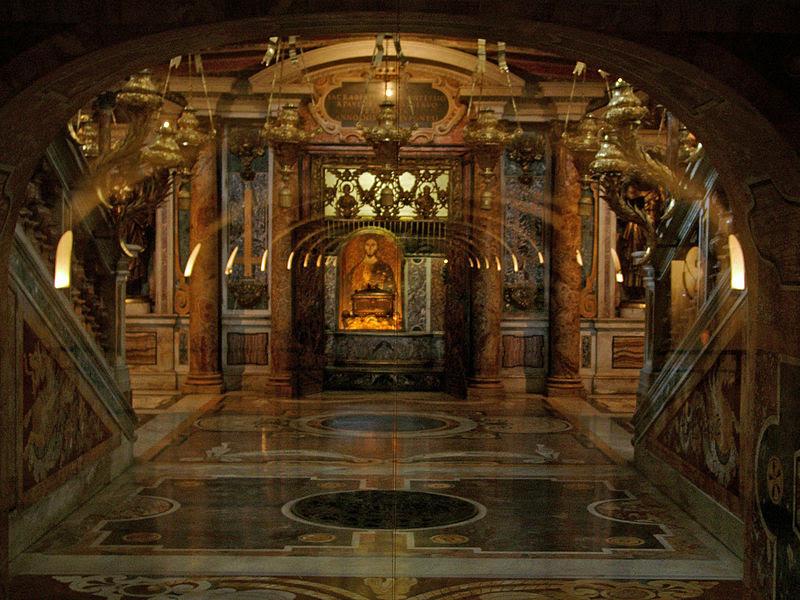 Archivo:Petrusgrab Petersdom b.jpg