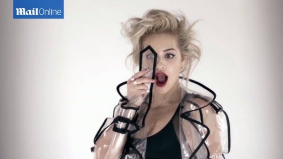 Of course, Rita Ora must also do the One Eye sign.