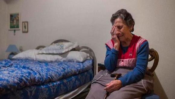 Carmen se vio obligada a abandonar su vivienda, tras más de cinco décadas.
