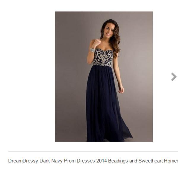 Dark blue evening dress uk
