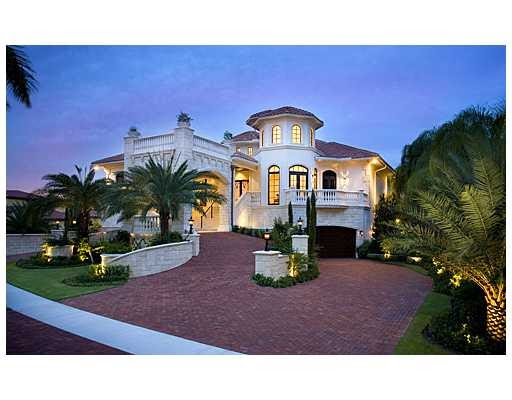 Celebrity houses 3 8 million european inspired home in for Celebrity houses in florida
