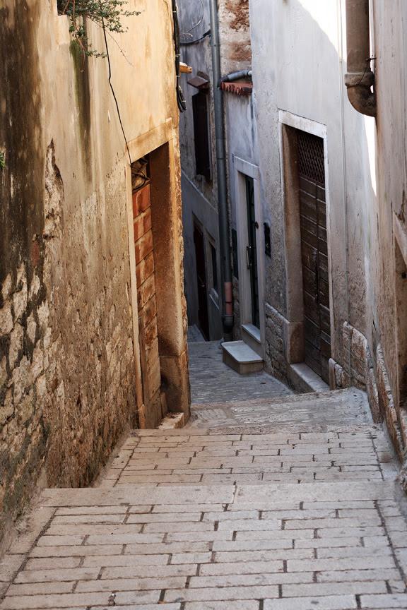 rovinj stairs