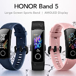 Honor Band 5 pre-empts Mi Band 4 on the Indian market - Notebookcheck.net