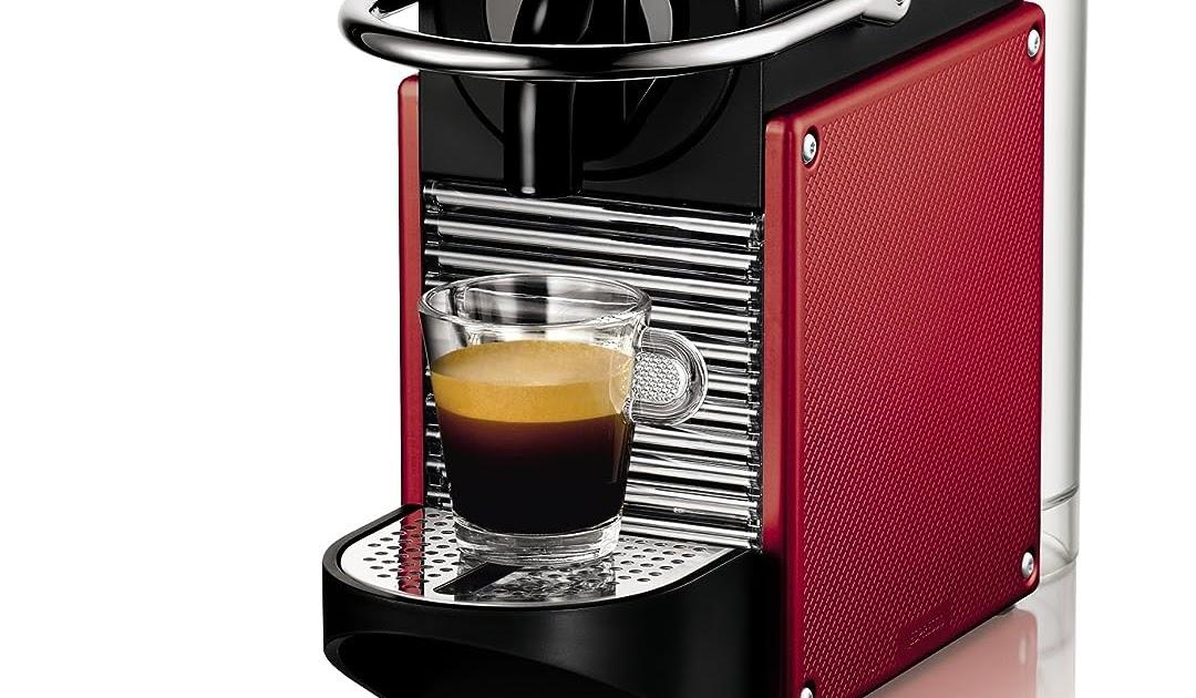 DeLonghi EN 125.R Nespresso Pixie Kapselmaschine, die beste ...