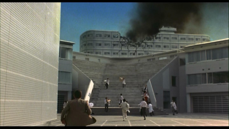 Traditional Godzilla violence