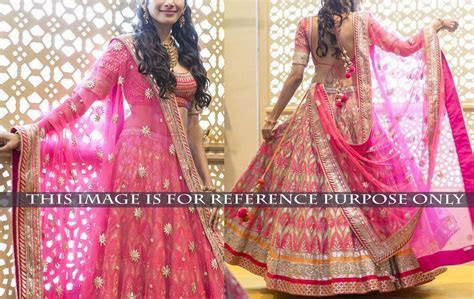 Designer Wedding Lehengas Available Online   Beauty and Blush