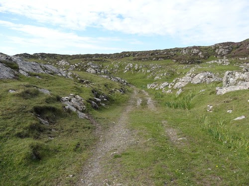 The Pilgrim road to Columba's Bay