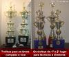 Confira os troféus que serão destinados aos campeões e vice do Amador 2010