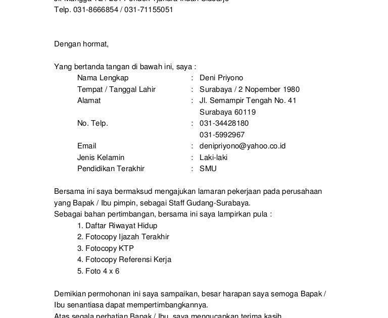Contoh Daftar Riwayat Hidup Rs Siloam Contoh Lif Co Id
