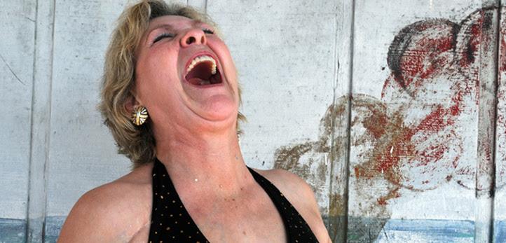 woman outside blowout web