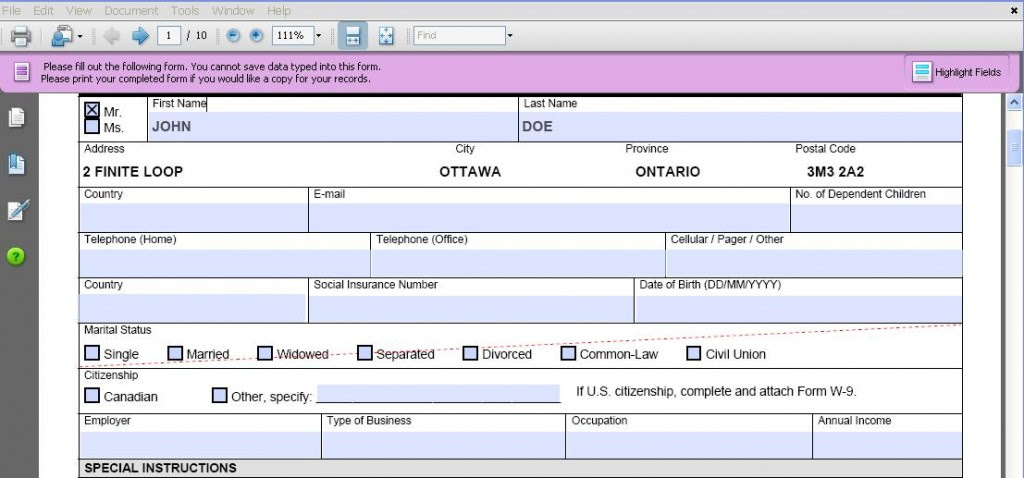 How to create a fillable pdf and interactive pdf forms?