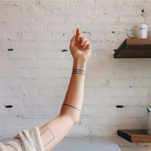 Hermosos Tatuajes Que Una Simple Línea Podrá Darte