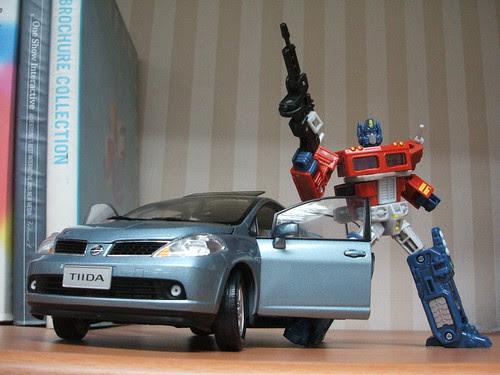 TIIDA with Transformer