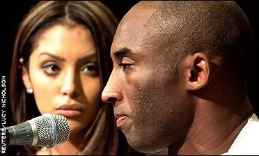 This is the second time in two months Kobe broke down in tears