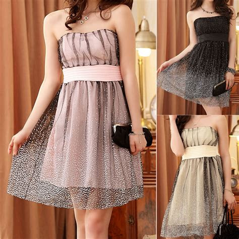 womens ladies wedding party evening cocktail formal dress