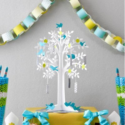 UNIQUE BABY SHOWER and PARTY DECORATING IDEAS: Tree Theme Baby ...
