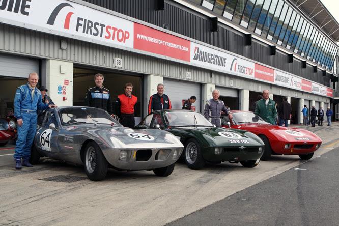 Morgan & Triumph SLR II, III & I, Silverstone Classic
