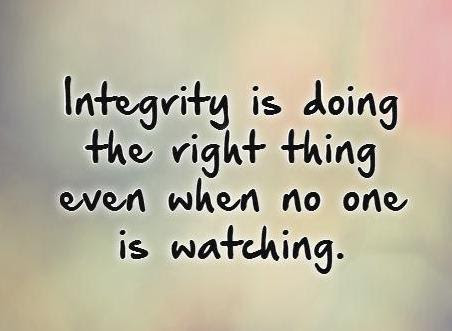 New Milford High School The Character Trait For March Is Integrity