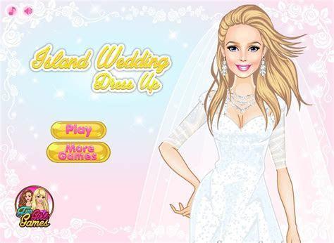Island Wedding Dress Up game