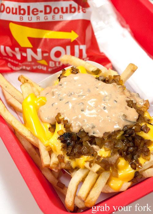 animal fries secret menu at in-n-out burger la los angeles american fast food