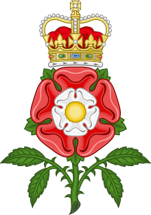 Tudor Rose Royal Badge of England.svg