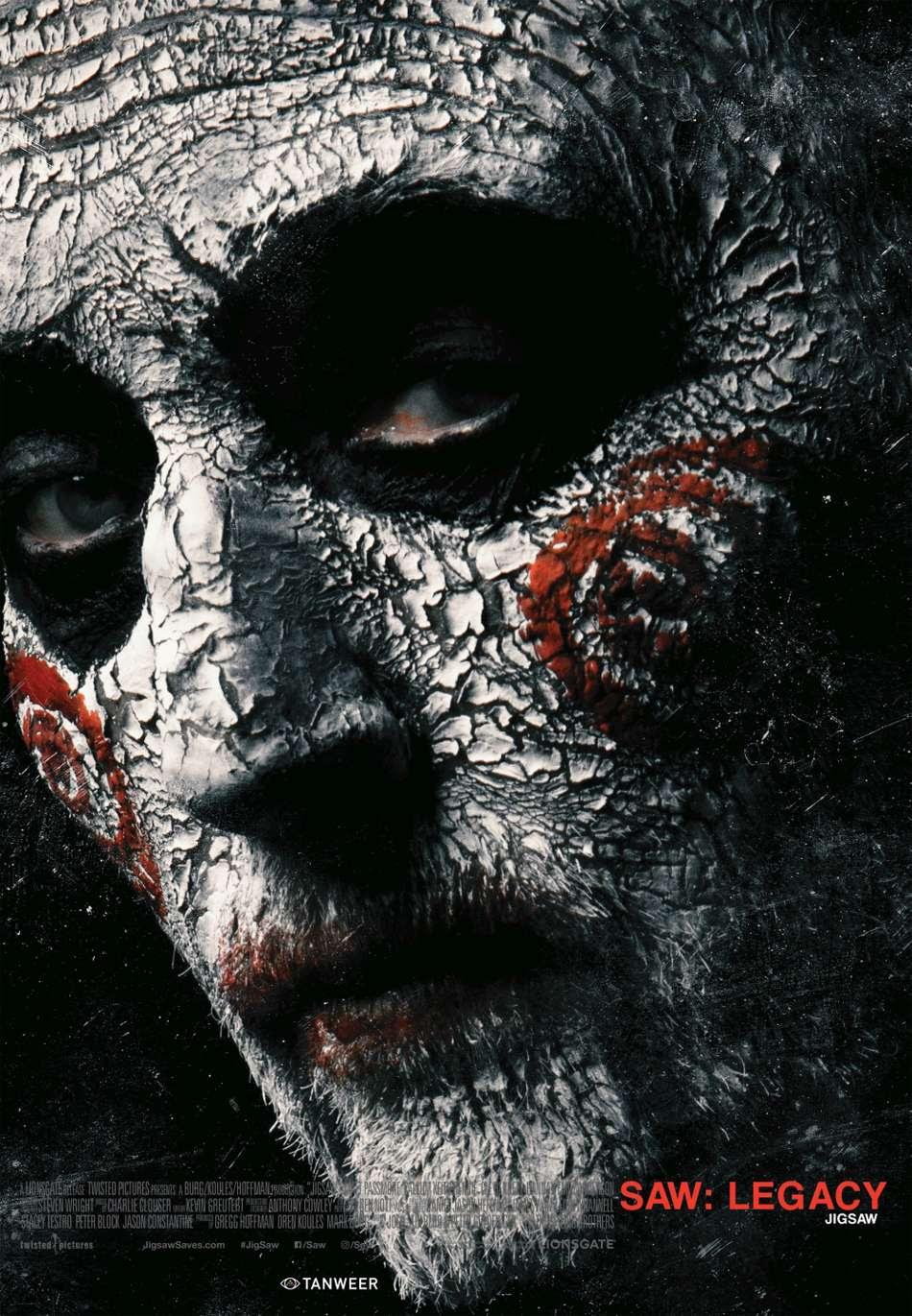 Saw: Legacy (Jigsaw) Poster Πόστερ