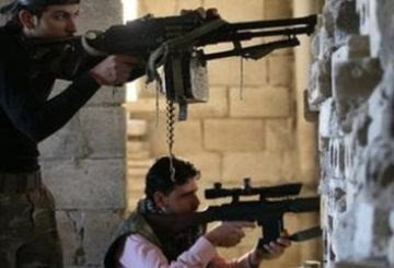 Ribelli siriani clashes0011