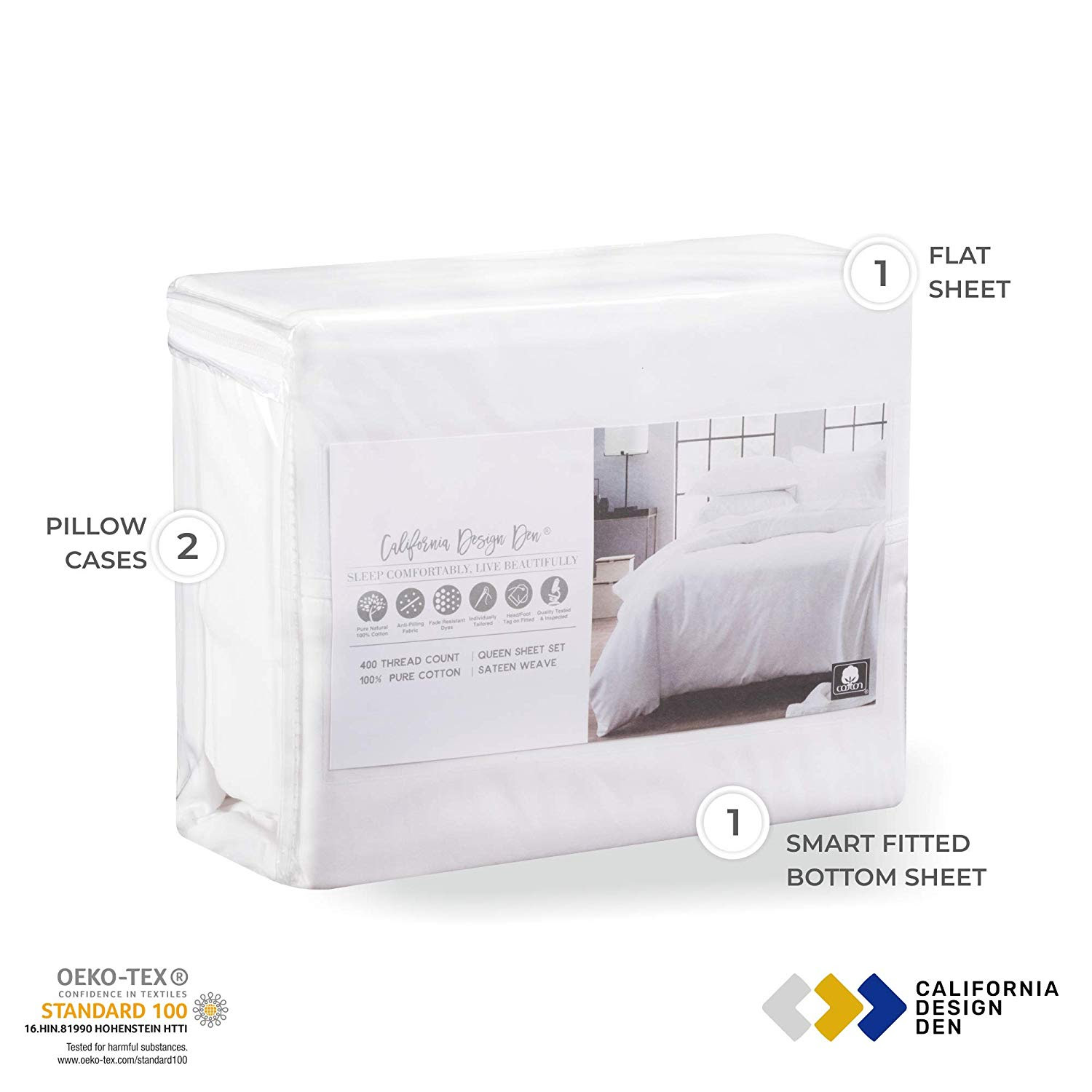 Affordable And Comfortable Bed Sheets By California Design Den
