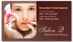 CPS-1033 - salon coupon card