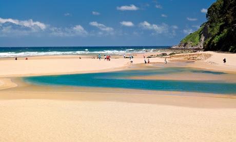 Playa de la Griega, northern Spain