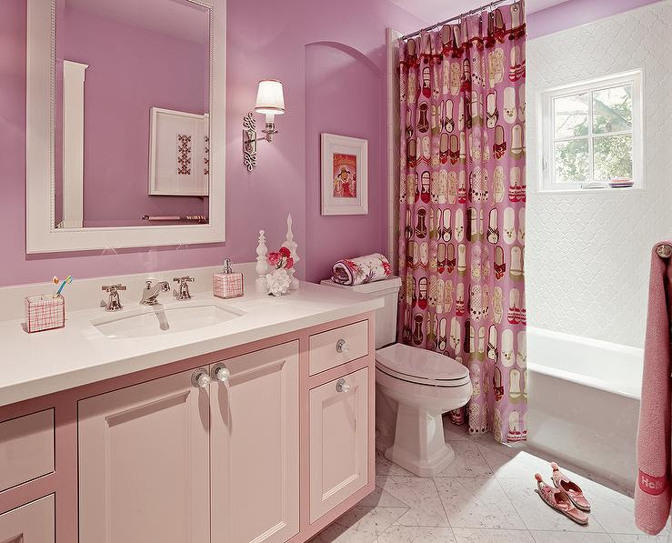 Red And White Bathroom Decoration Models - Home Design Jobs