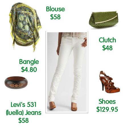 Levi's 531 Luella Jeans - Styled