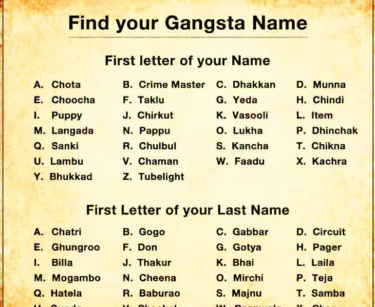 15+ Gangster Nicknames For Guys Images - topratedcordlessdrill