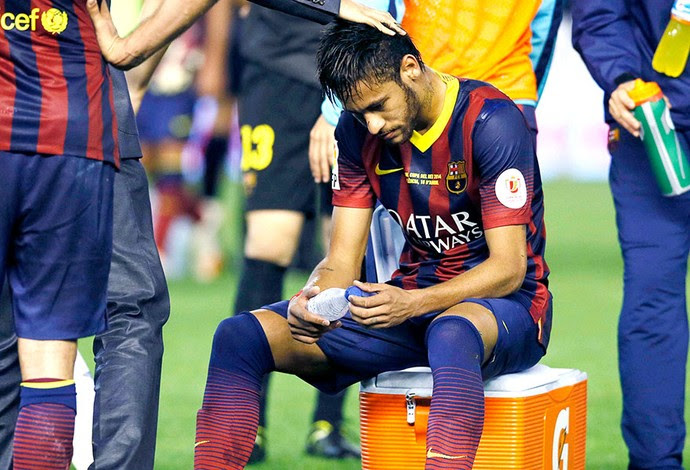 Neymar derrota Barcelona contra Real Madrid final (Foto: Reuters)