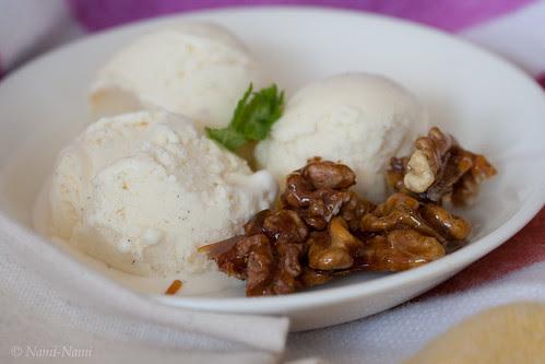 Maple and mascarpone ice cream / Mascarpone-vahtrasiirupijäätis