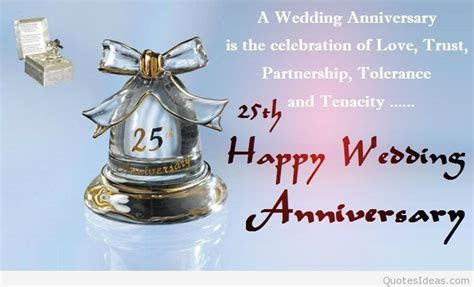 Happy 25rd marriage anniversary quotes wishes on pics