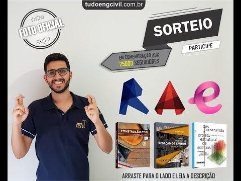 SORTEIO DE 3 CURSOS E 3 LIVROS