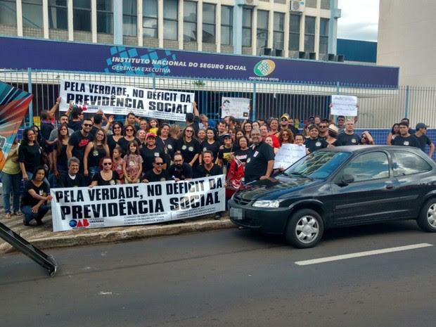 G1 Ato Contra Reforma Da Previdência Social é Realizado Em Uberaba