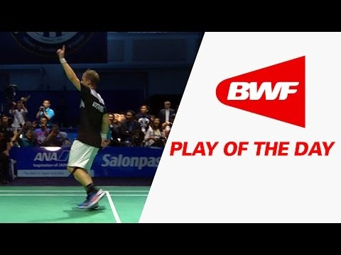 (Vidéo) On peut regarder un point de Badminton fou