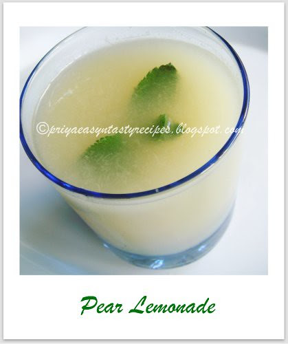 Pear Lemonade