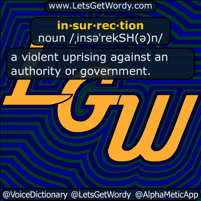 insurrection 05/09/2018 GFX Definition