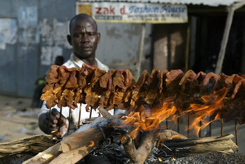 Image result for images of suya in nigeria