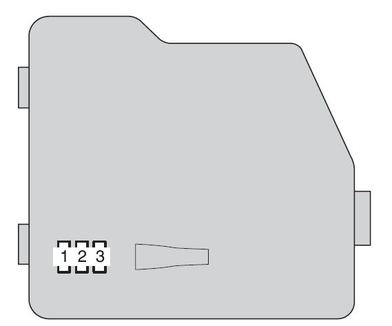 Toyota Highlander Hybrid From 2011 Fuse Box Diagram Auto Genius