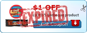 $1.00 off LLOYD'S Barbeque product