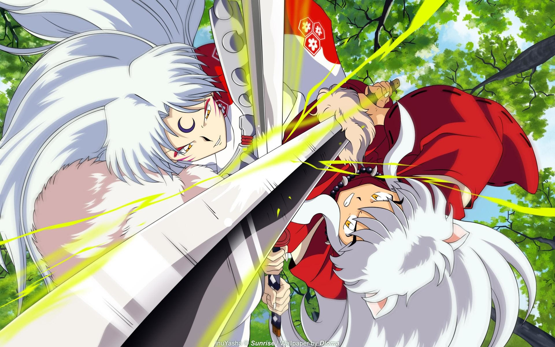 Download 84 Wallpaper Hd Anime Inuyasha HD Paling Keren